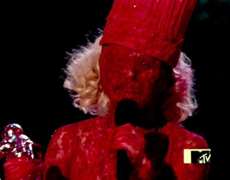 What appears to be Lady Gaga