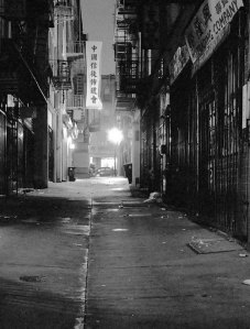 Modern Day Chinatown, San Francisco (Formerly Barbary Coast)